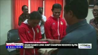 Indonesia's Long Jump Medalist Maria Londa Awarded Cash Bonus