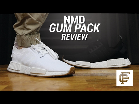 Adidas Nmd Gum Pack Review Youtube