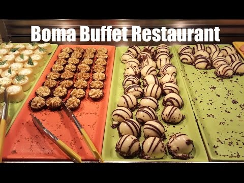 Boma Buffet Restaurant in Disney's Animal Kingdom Lodge