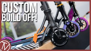 Custom Build Off #9!! │ The Vault Pro Scooters