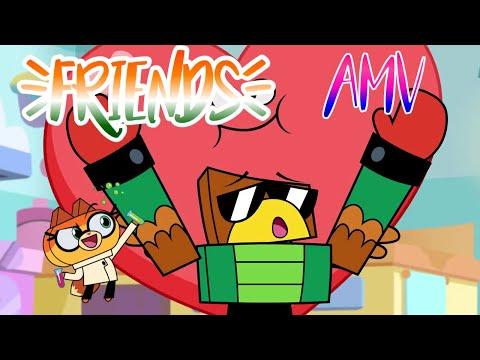 Friends amv (unikitty)