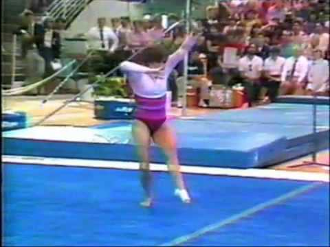 Mary Lou Retton - 1984 US Nationals Event Finals - Floor Exercise