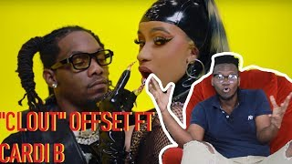 Offset - Clout ft. Cardi B Official Music Video | REACTION & REVIEW