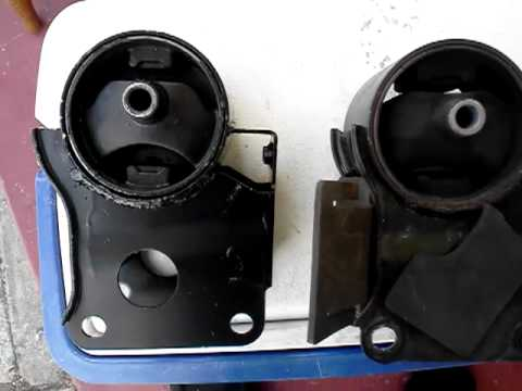 2006 Nissan Altima 2.5 rear motor mount swap - YouTube