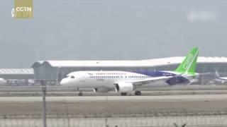 Китайский самолет COMAC C919 испытали на скоростное руление