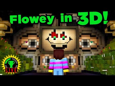 GTLive: FLOWEY'S Valentine's Day MASSACRE! | Minecraft Undertale Mod - GTLive - Minecraft Undertale Mod
