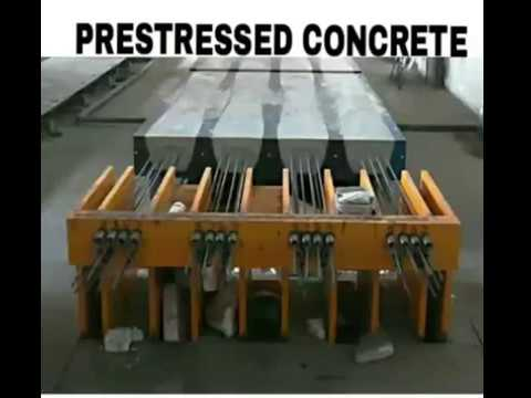Prestressed Concrete | Pretentioning and Post tentioning 3D Animated