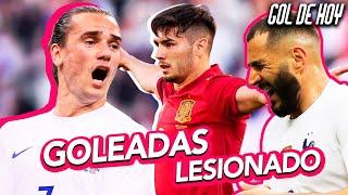 G0LEAN FRANClA y ESPѦÑA | BENZEMѦ LESlONADO | RESUMEN JORNADA | #goldehoy