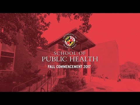 School of Public Health - Fall 2017 Commencement Ceremony
