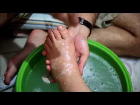 ASMR POV #2 | Foot Bath | Peeling | Pedicure | massage |