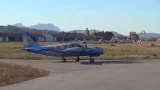 Takeoff Piper PA-34-220T Seneca V (PH-NLB) - Sabadell Airport