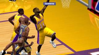 NBA Live 2001 PC Gameplay (indiana pacers vs los angeles lakers)