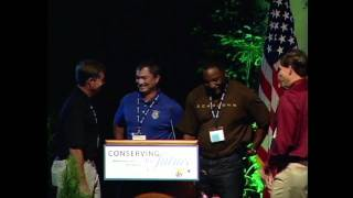 U.S. Fish & Wildlife Director Dan Ashe speaks at the Conserving the Future Conference