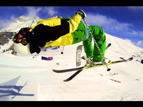 GoPro HERO 3 - Park-Skiing 1| Full HD