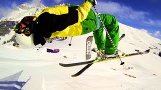 GoPro HERO 3 - Park-Skiing 1| Full HD