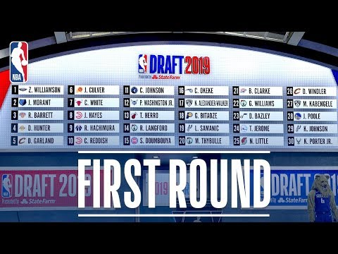 EVERY PICK From The First Round | 2019 NBA Draft