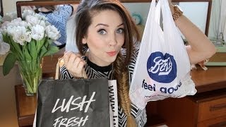 HUGE Beauty & Cosmetics Haul | Zoella Thumbnail