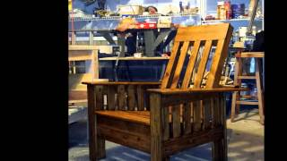 Woodworking - Morris Chair - Complete