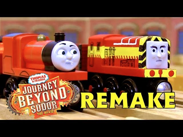 James Searches for Thomas at Bridlington Goods Yard | Journey Beyond Sodor Remake Clip