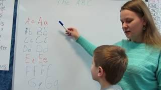 Учим Английский алфавит с Денисом. Часть 1 из 3(A-G)