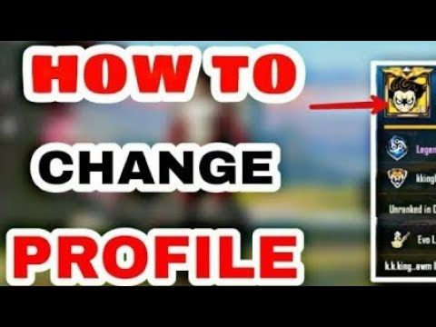 how-to-change-profile-picture-on-pubg-mobile😎😎