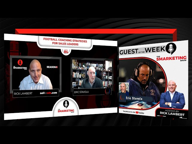 Football Coaching Strategies for Sales Leaders - The Smarketing Show - Ep 84