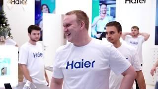 Смотреть видео Флешмоб Haier (Москва, Питер, Уфа). онлайн