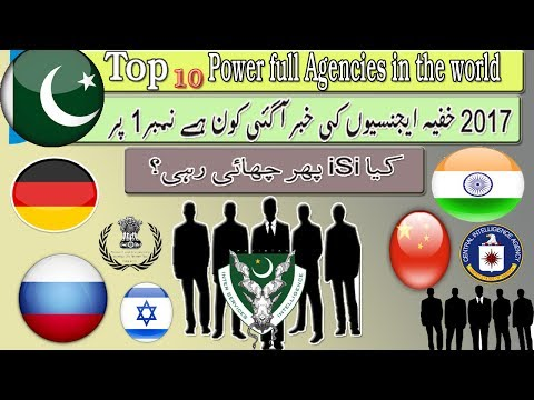 Top 10 secret agencies in the world 2017: iSi is no 1 again .Shocked news about secret agencies