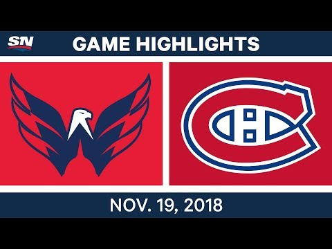 NHL Highlights | Capitals vs. Canadiens – Nov. 19, 2018