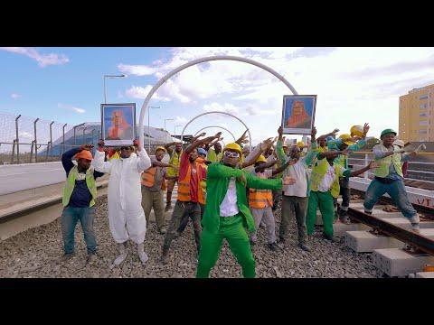 Смотреть клип Harmonize X Awilo Longomba X H Baba - Kazi Iendelee