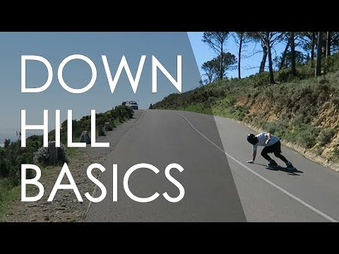 INLINE SKATING TUTORIAL - THE DOWNHILL SKATING BASICS // VLOG 162