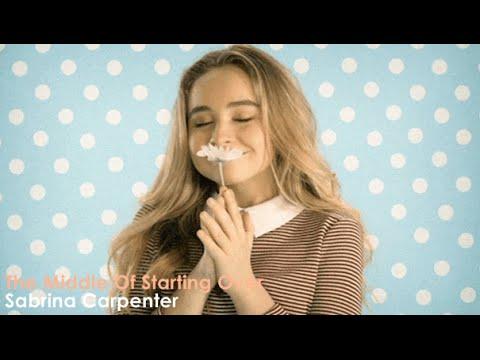 Sabrina Carpenter - The Middle of Starting Over (Official Video) [Lyrics + Sub Español]