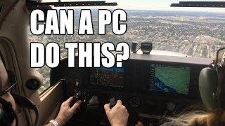 Reality vs. simulation - flying a real Cessna 172 vs. Flight Simulator X