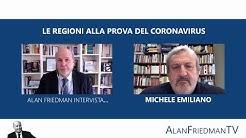 LE REGIONI ALLA PROVA DEL CORONAVIRUS: Alan Friedman intervista Michele Emiliano