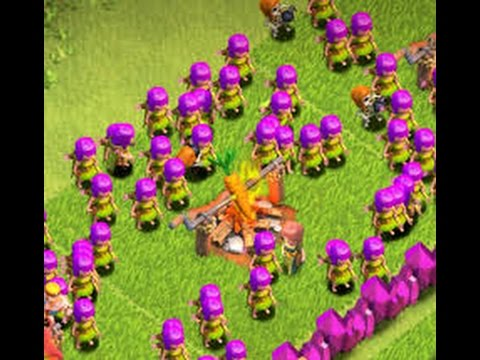 Clash of Clans level 3 Archer Raid