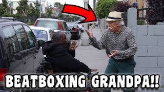 Beatboxing Grandpa in Public
