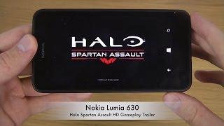 Halo Spartan Assault Nokia Lumia 630 Windows Phone 8.1 HD Gameplay Trailer