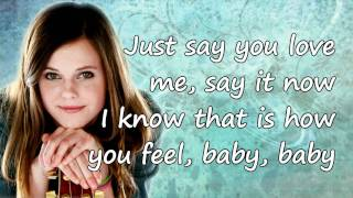 Tiffany Alvord - The One That I Adore (Studio Version) (+ Lyrics)
