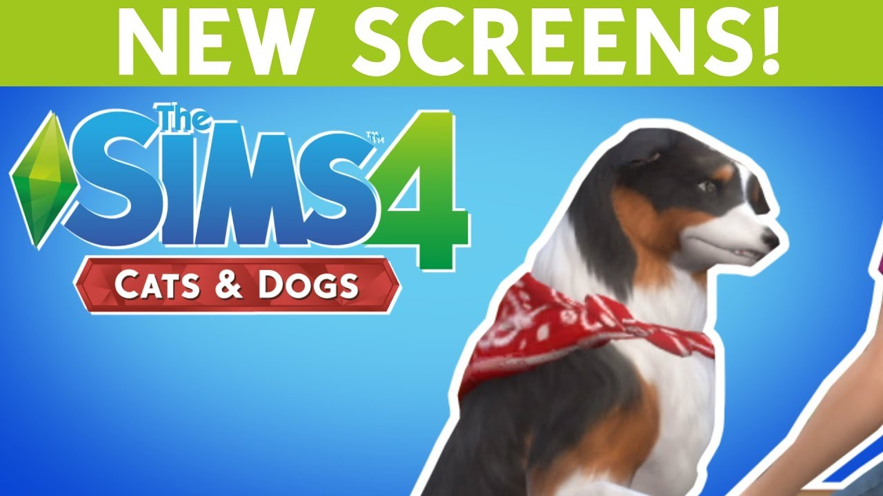 Sims  Dogs And Cats Released