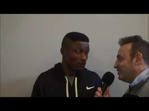 Albert Mensah talks about Ed Brown fight