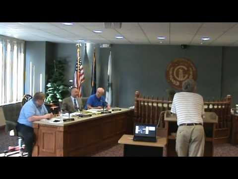 Greensburg IN City Plan Commission mtg of 6-21-16 part 1 of 2