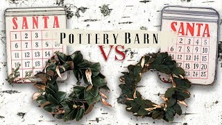 We tried DIYing Pottery Barn Holiday Decor