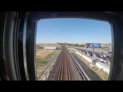Amtrak Capitol Corridor: Martinez to Davis Rear View