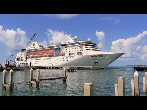 First cruise ship into Key West post Irma
