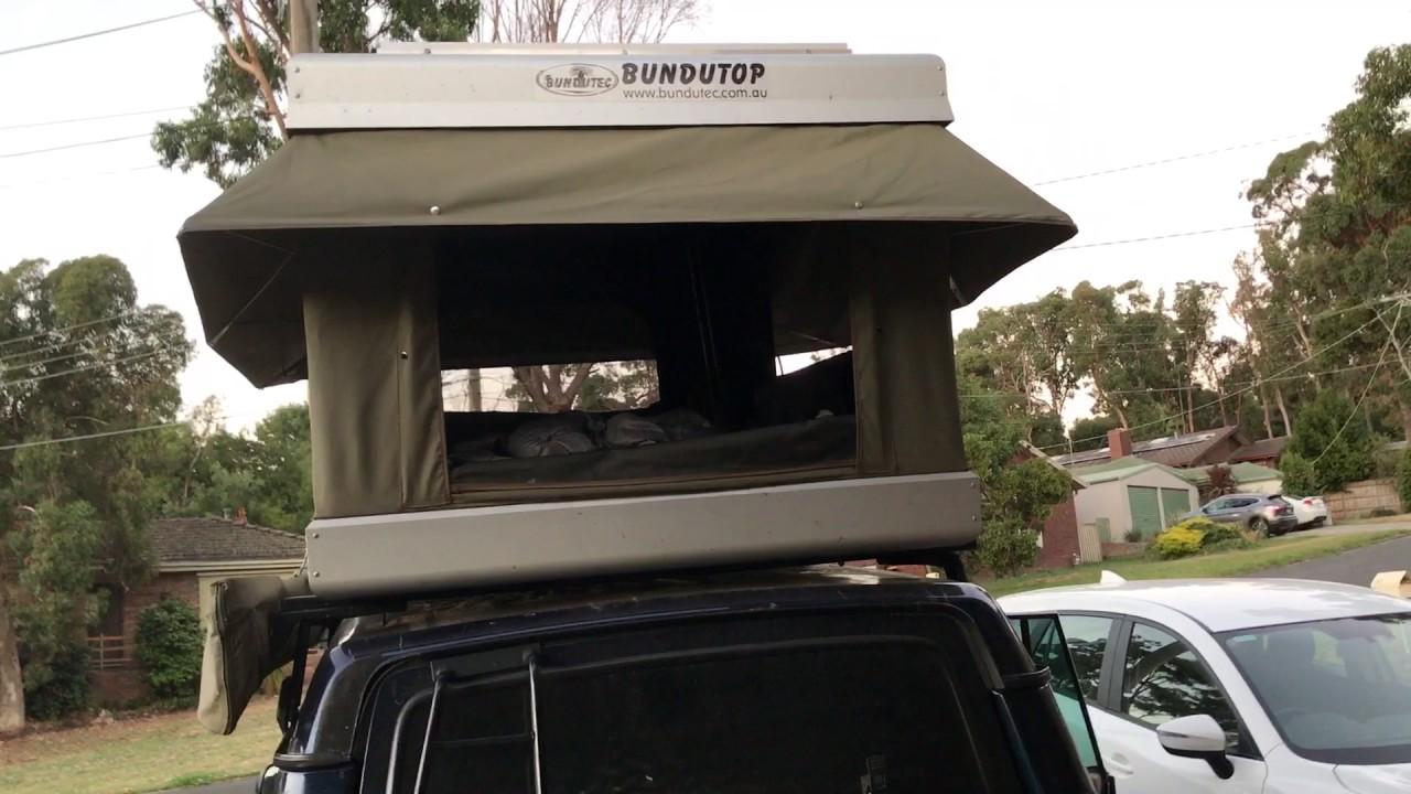 Bundutec Bundutop Electric Roof Top Tent Youtube