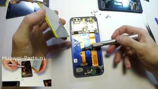 Huawei Honor 8 разбор (disassembly, cambiar pantalla lcd, repair / Phẫu thuật)