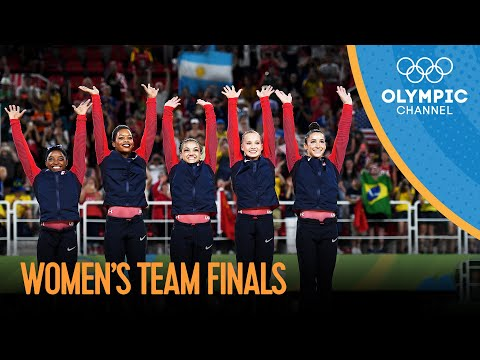 Artistic Gymnastics Women's Team Final | Rio 2016 Replays