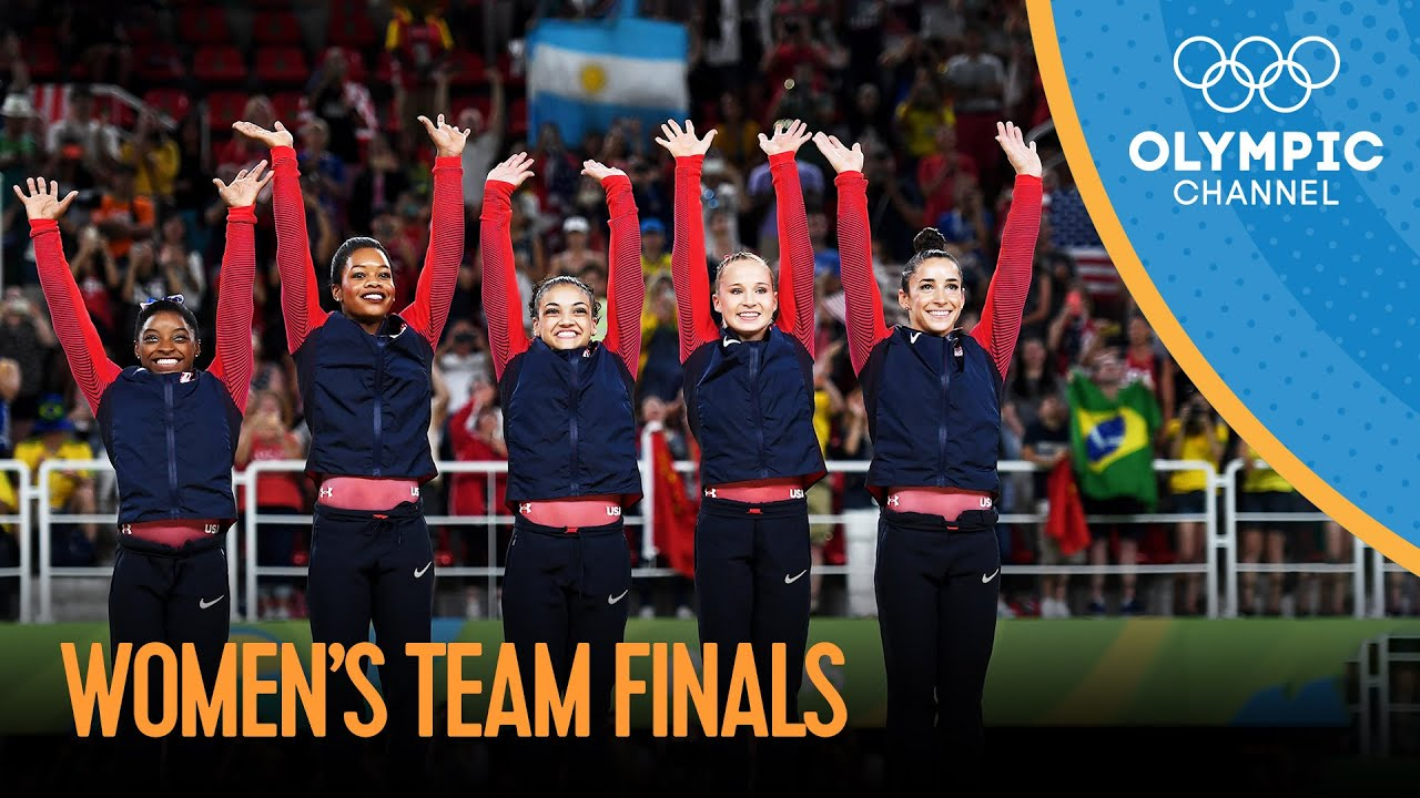 Download Artistic Gymnastics Women's Team Final   Rio 2016 Replays