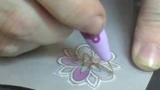Parchment Crafting with SweetStamps.com Rubber Stamps