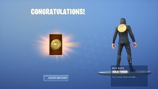 "UNLOCKING ""GOLD TOKEN"" BACK BLING with a WICK'S BOUNTY LTM WIN! ""JOHN WICK"" SKIN GAMEPLAY (Fortnite)"